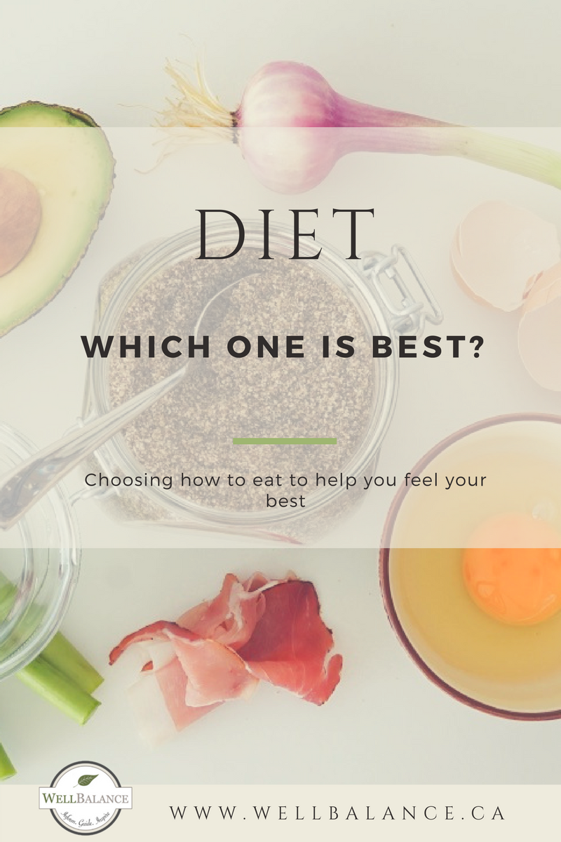 Diet: which one is best? Choosing how to eat to help you feel your best.