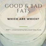 Dietary Fat Part 1: Saturated Fatty Acids