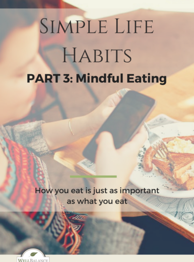 SIMPLE LIFE HABITS PART 3: Mindful Eating
