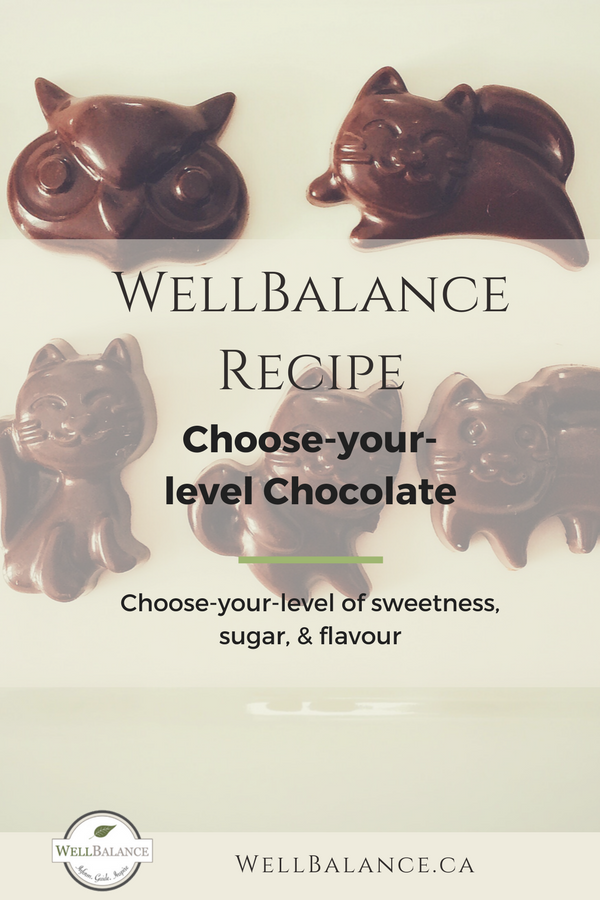 Choose-your-level chocolate