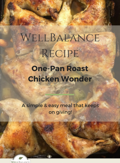 One-pan roast chicken wonder