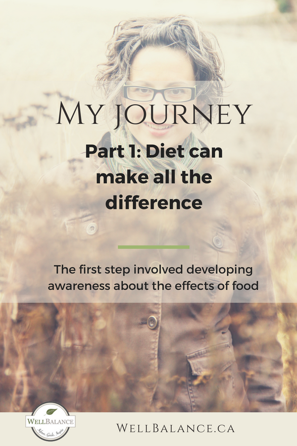My journey part 1: diet can make all the difference