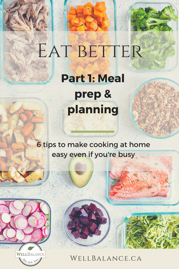 meal prep and meal planning simple tips to make it easier