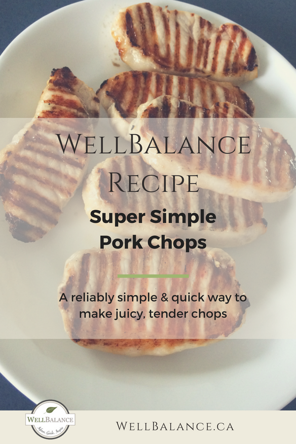 A quick and easy recipe for pork chops that guarantees juicy, tender chops every time!