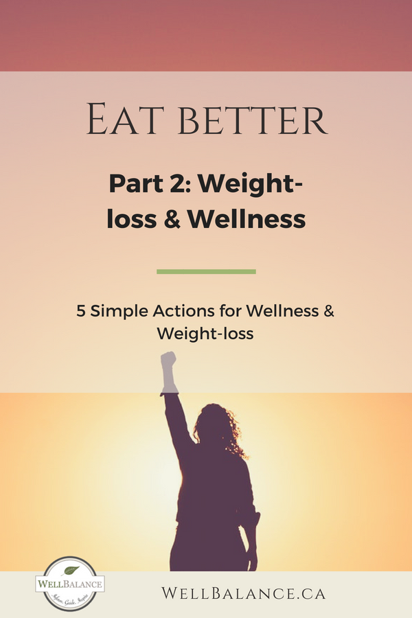 5 simple actions for wellness and weight-loss