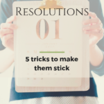 5 simple tricks to stick to your New Year's resolution