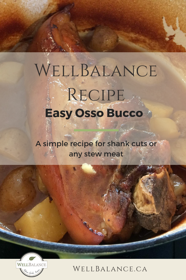Easy Osso Bucco Recipe - for any shank or stew cut of meat