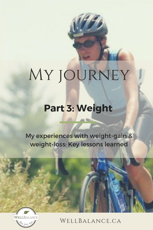 5 key lessons I learned on my journey of weight gain and weight loss