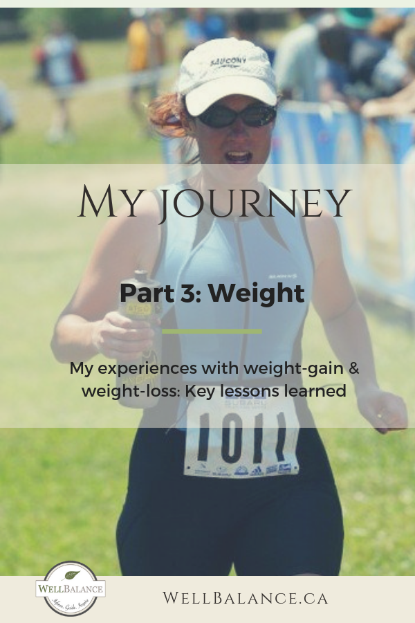 My Journey Part 3: Weight
